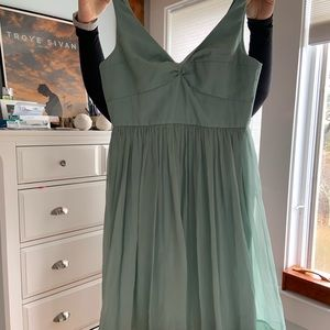 Jcrew dress, blue/green, size 12, worn once